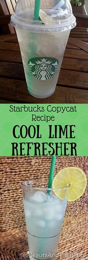 Starbucks Copycat Recipe Cool Lime Refresher