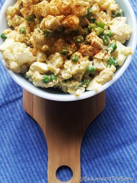 Cauliflower 'Potato' Salad Beauty and the Beets (7)