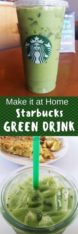 Make it at Home Starbucks Green Drink Beauty and the Beets (2)