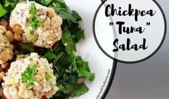 """Chickpea """"Tuna"""" Salad"""