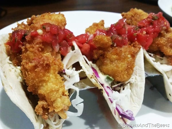 Duffy's Sports Grill Beauty and the Beets Lobster Tacos