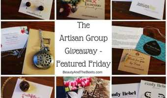 The Artisan Group Giveaway – Featured Friday Link Up