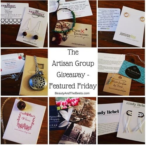 The Artisan Group Giveaway -Featured Friday Beauty and the Beets