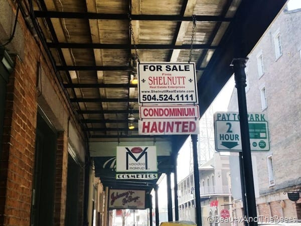 Haunted Real Estate New Orleans Beauty and the Beets