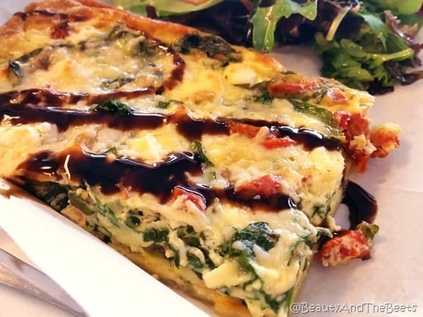 Spinach Feta Quiche Se7en Bites Bake Shop