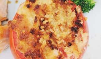 4- ingredient Parmesan Crusted Tomatoes