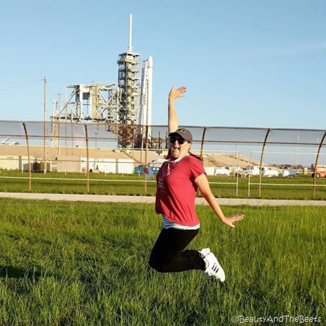 #SpaceX CRS12 NASA Kennedy Space Center Beauty and the Beets