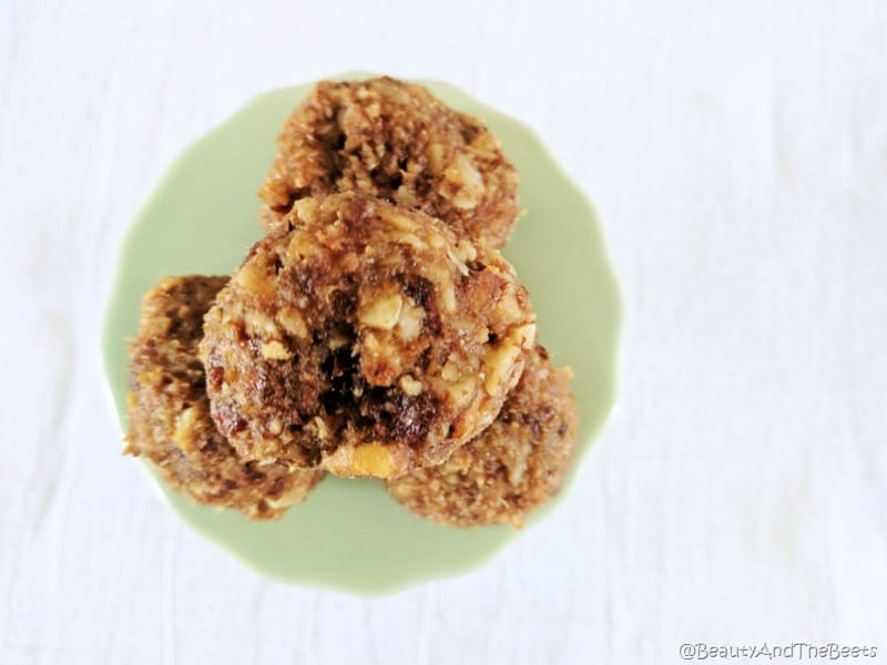 No Bake Date and Nut Cookies Beauty and the Beets (10)