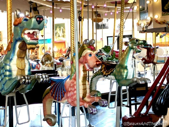 Scooby Doo horses Merry Go Round Museum Sandusky Beauty and the Beets