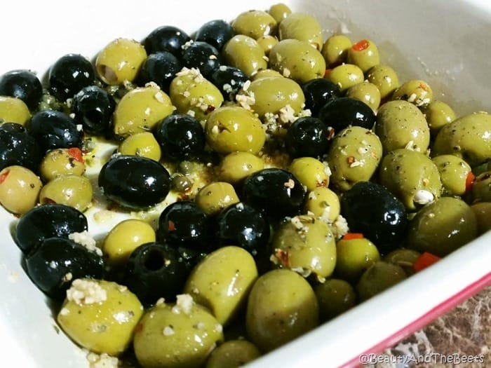 Seasoned Olives Beauty and the Beets 1