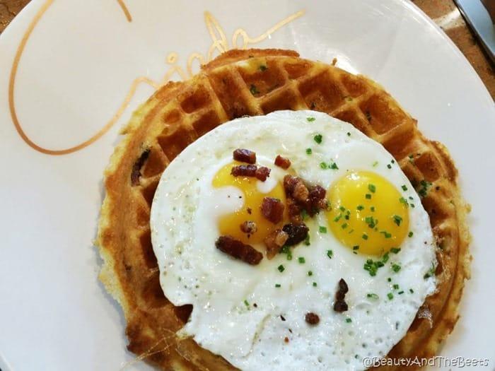 Sunrise Polenta Waffle Giada Vegas Beauty and the Beets