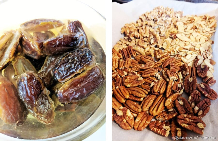 dates and nuts Beauty and the Beets