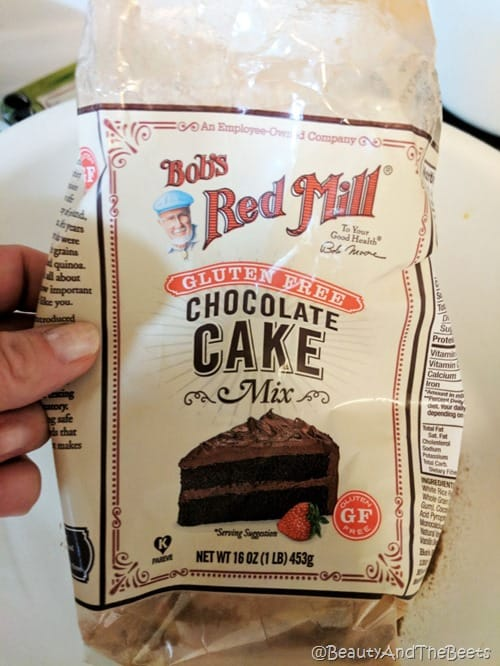 Bobs Red Mill Chocolate Cake Santa Brownie Hats Beauty and the Beets