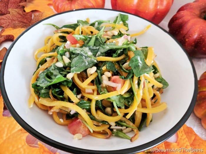 Butternut Squash Arugula Salad Beauty and the Beets (1)
