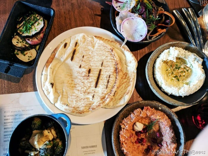 Mezze plates Butcher and Bee Nashville Beauty and the Beets