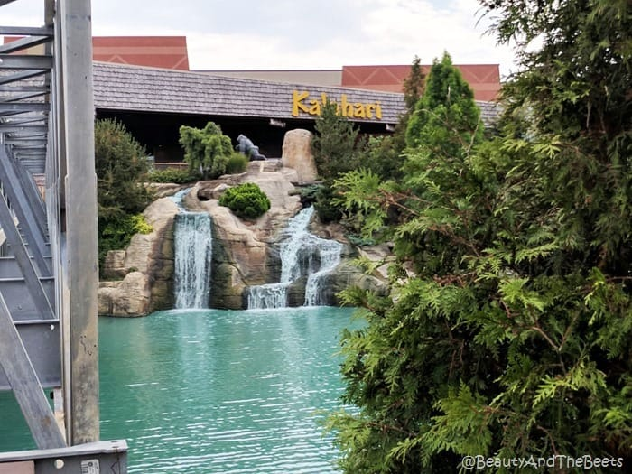 waterfall Kalahari Resort Sandusky Beauty and the Beets