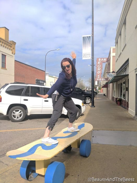 Idaho Falls skateboard Beauty and the Beets