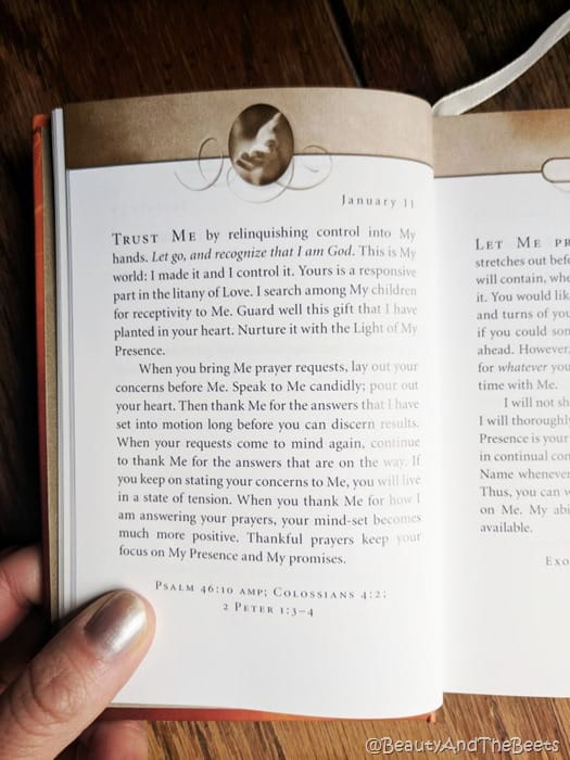 Jesus Calling Beauty and the Beets