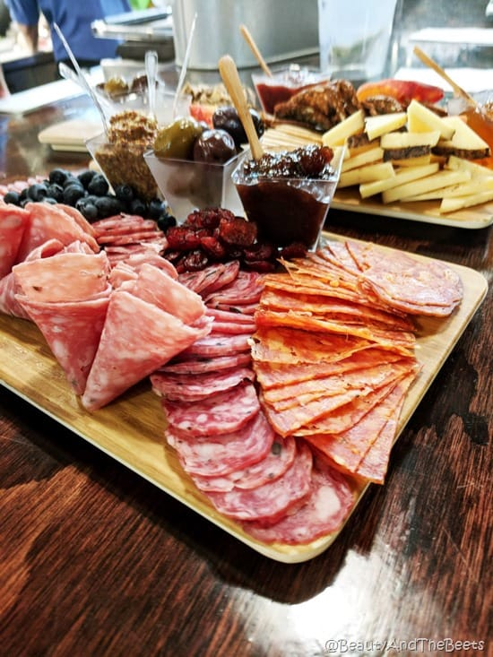 Charcuterie meats The Local Butcher Winter Garden Food Tours Beauty and the Beets