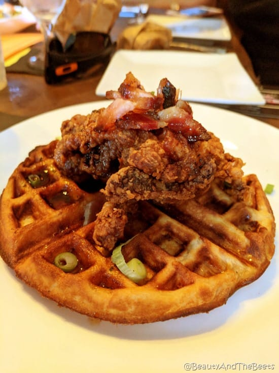 Chicken and Waffles The Chefs Table Winter Garden Food Tours Beauty and the Beets