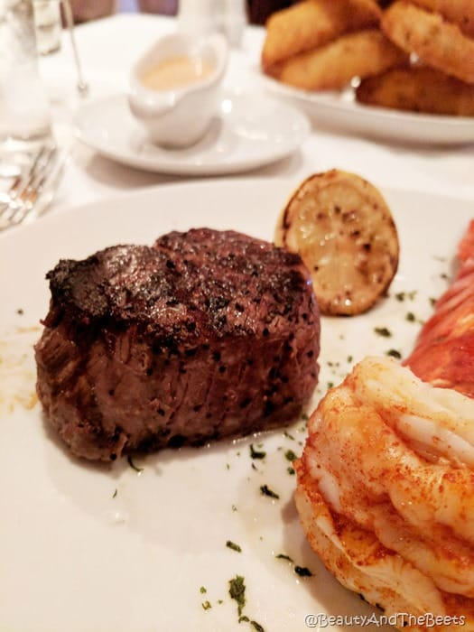 Flemings Prime Steakhouse Beauty and the Beets filet mignon