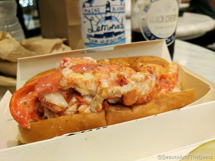 Lukes Lobster The Plaza Food Hall Beauty and the Beets lobster roll