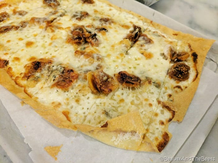 The Godmother fig Pizza Rollio The Plaza Food Hall Beauty and the Beets