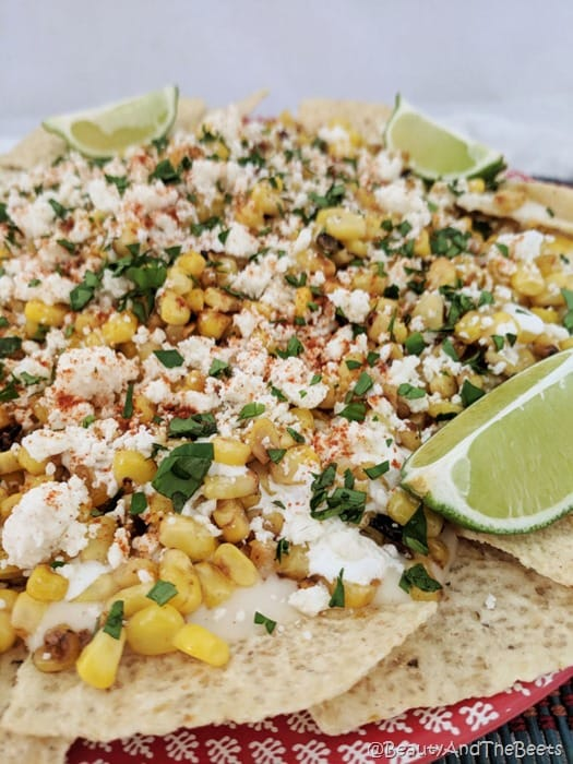 Mexican Street Corn Nachos Beauty and the Beets