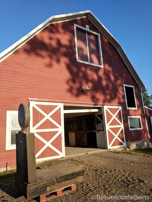 #FarmFoodTour Kansas Beauty and the Beets red barn