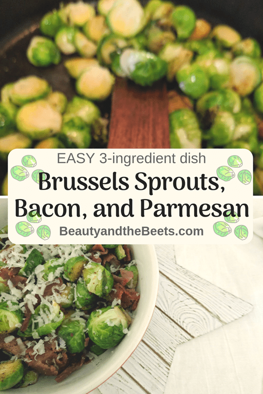 3-ingredients Brussels Sprouts recipe Beauty and the Beets