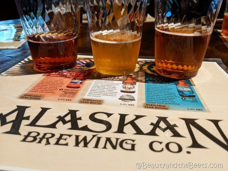 Alaskan Brewing Company Juneau Food Tours Beauty and the Beets