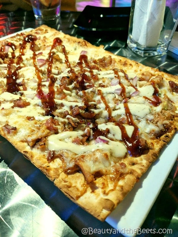 BBQ Chicken Flatbread Icebar Beauty and the Beets