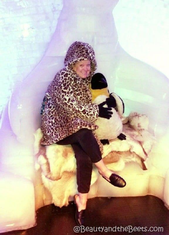 Fake fur Icebar International Drive Orlando Beauty and the Beets