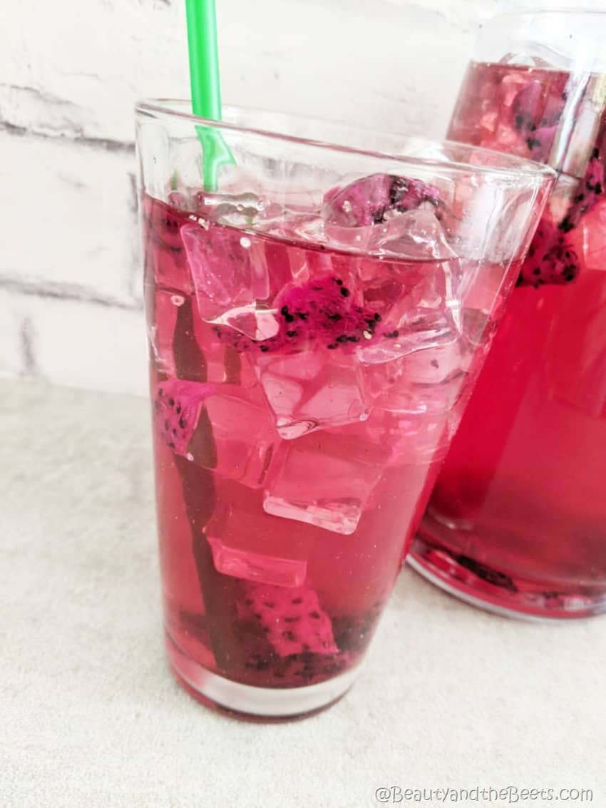 Dragon Drink Refresher copycat Beauty and the Beets