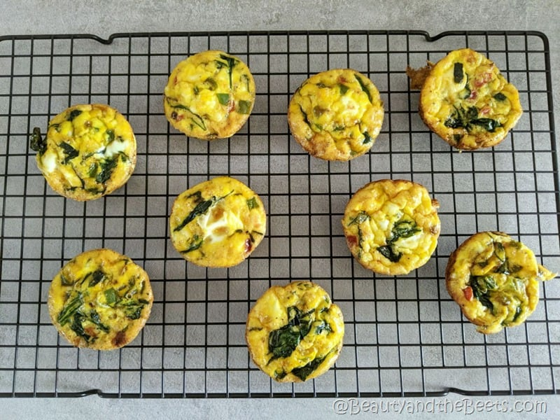 Egg Bites Cooling Rack Beauty and the Beets