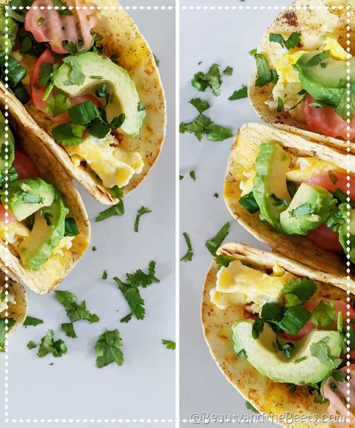 French Toast Breakfast Tacos Beauty and the Beets