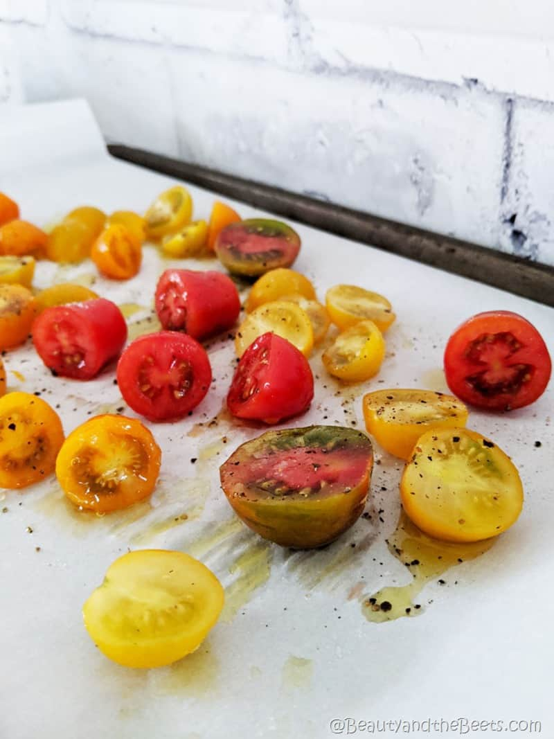 Roasted Tomatoes Beauty and the Beets