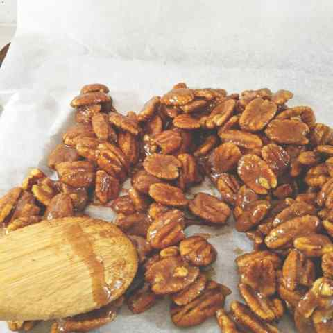 Southern Candied Pecans Recipe