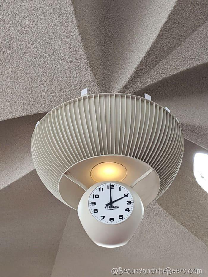 TWA Hotel Vulcain Clock Beauty and the Beets