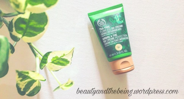 The body shop TEA TREE FLAWLESS BB CREAM review