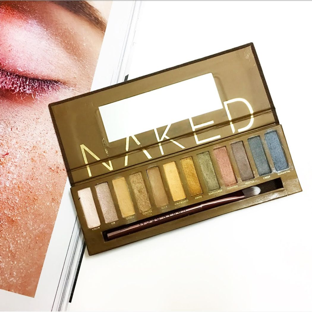 Urban Decay NAKED   Review and Swatches