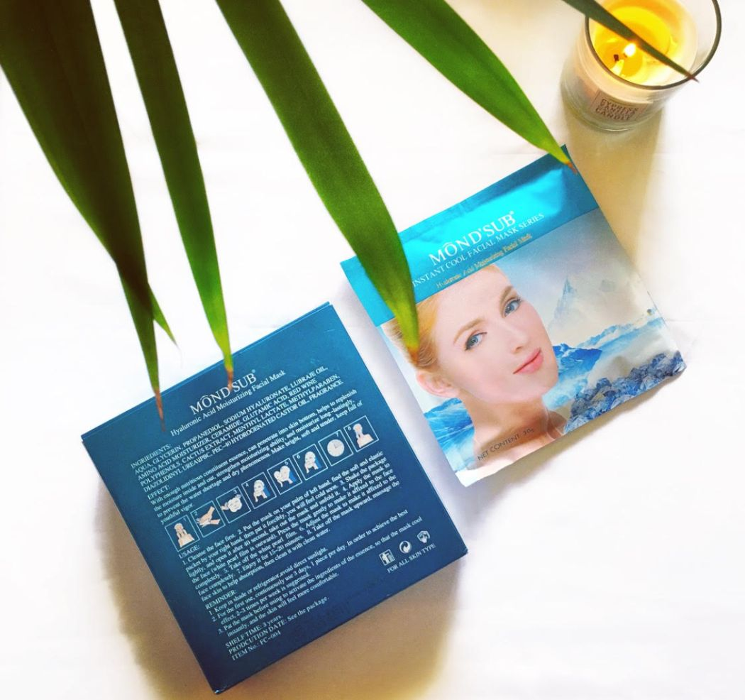 Mond'sub Hyaluronic Acid Moisturizing Facial Mask | Review