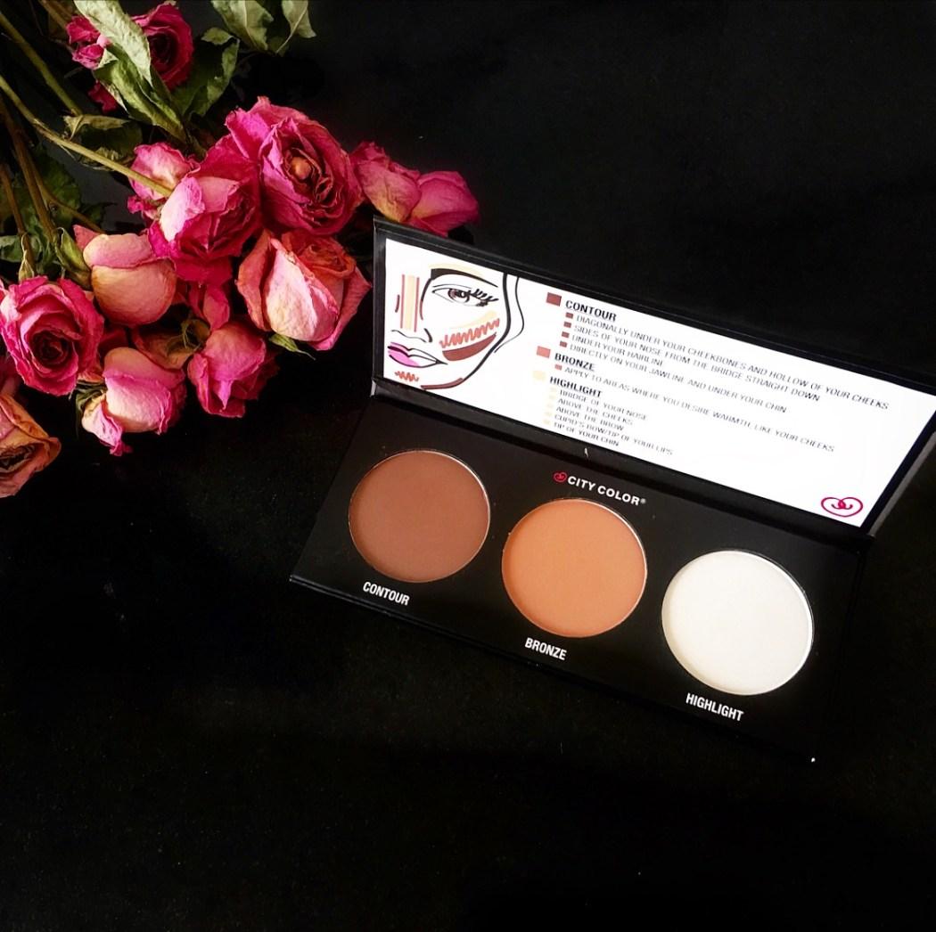 City Color Cosmetics Contour Palette| Review