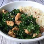 Chicken Kale Stirfry (Healthy & Low Carb)
