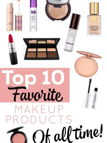 top 10 makeup products