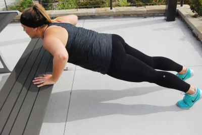Incline Push Ups