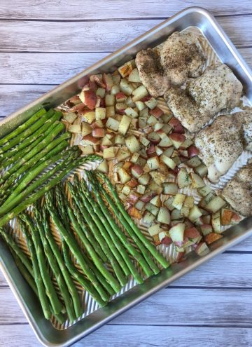 Chicken Sheet Pan Meal