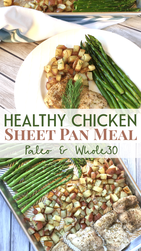 Whole30 Sheet Pan Meal Pin Image