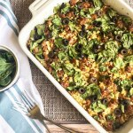 Chorizo Spinach Cauliflower Bake: A Whole30 and Low Carb Meal