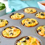 sausage pizza breakfast muffins